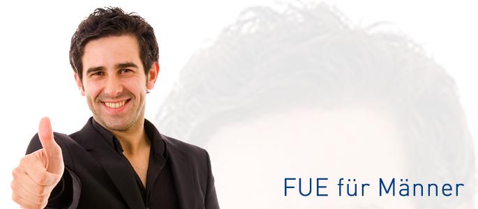 FUE Hair transplantation for men